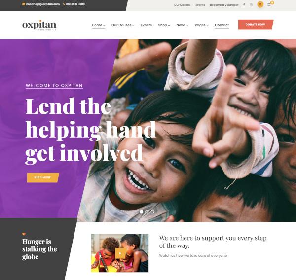 nonprofit charity wordpress theme1