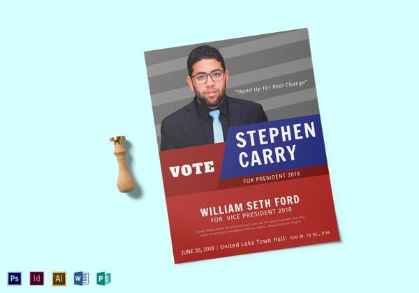 political-candidate-flyer-template