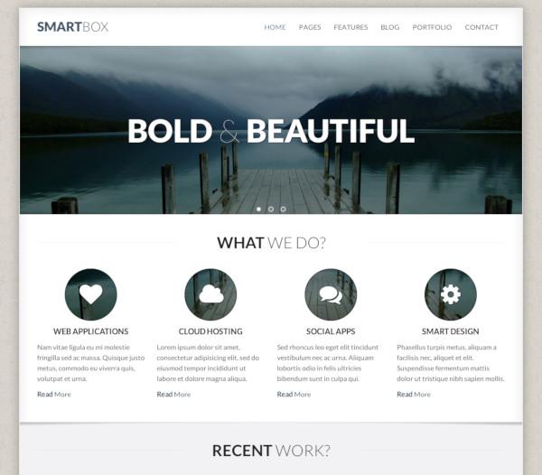 responsive wordpress bootstrap theme