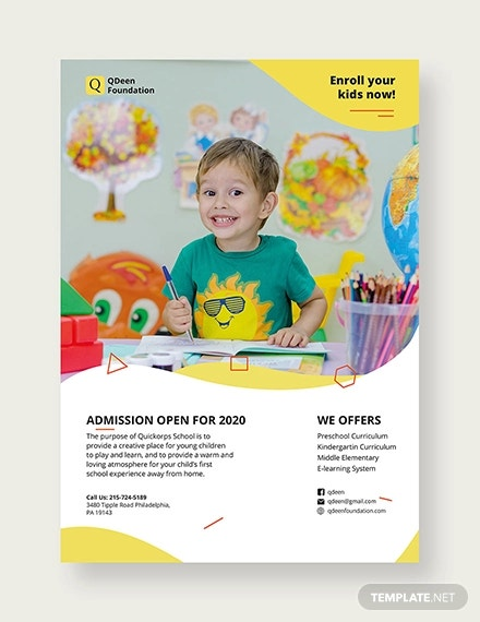 25 Back To School Flyers Template Psd Ai Eps Word Free