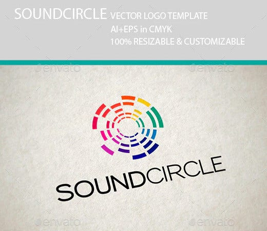 sound circle music logo