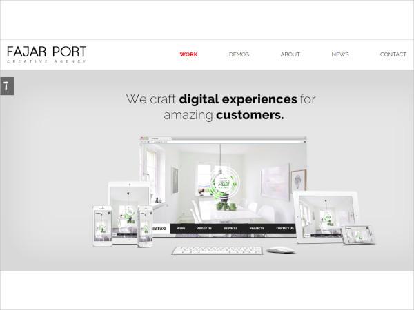 the multi purpose html5 template