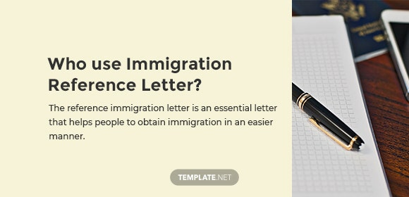 9+ Immigration Reference Letter Templates - Word, PDF, Apple