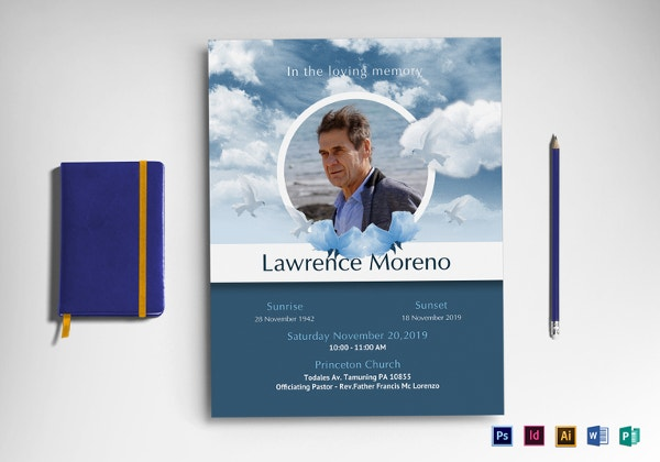 11+ Funeral Flyer Templates - Free PSD, EPS, AI Format Download ...