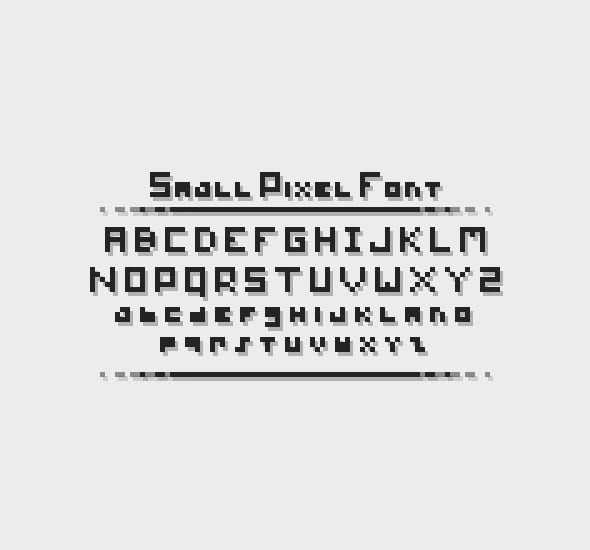 small font