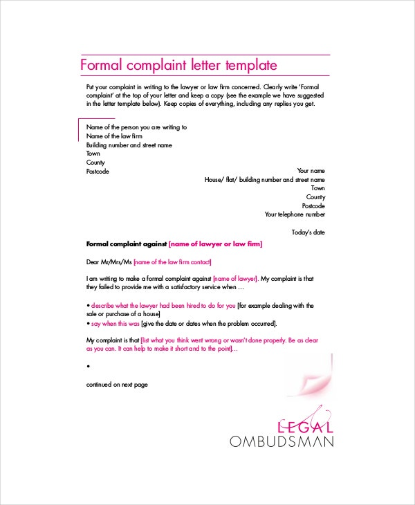 24+ Complaint Letters - Free Sample, Example Format | Free & Premium