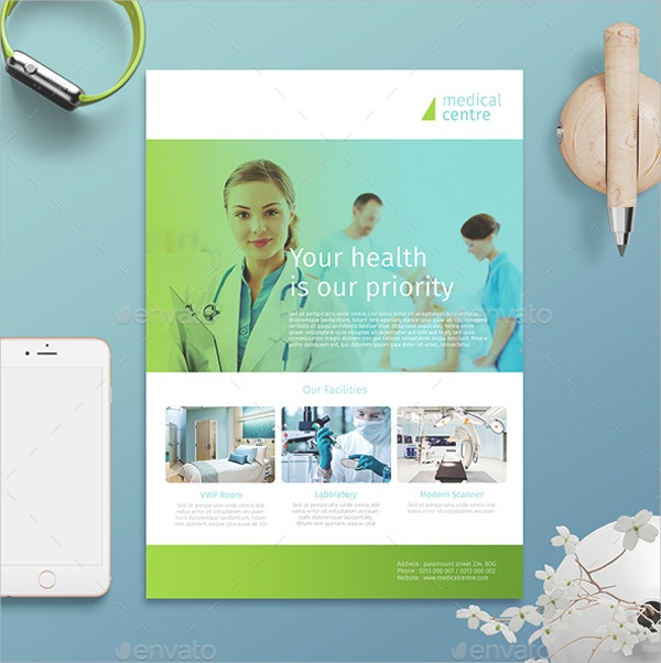 Beauty Medical Flyer Template