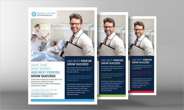 Medical Flyer Templates  Free Psd Ai Eps Format Download