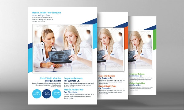 17 Medical Flyer Templates Free PSD AI EPS Format Download – Health Brochure Template