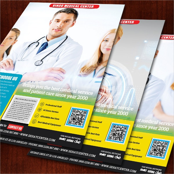 Clean and Simple Health Medical Center Flyer