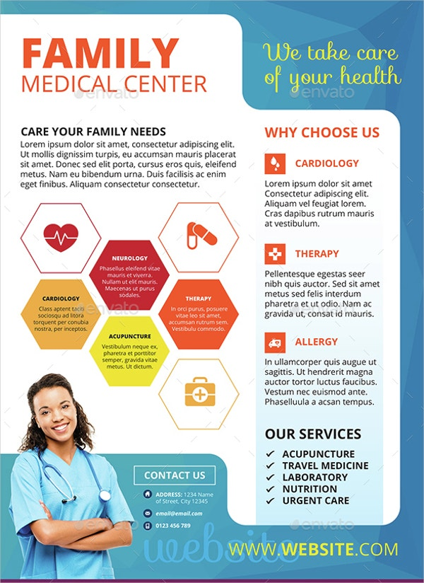 Customizable Medical Flyer Template