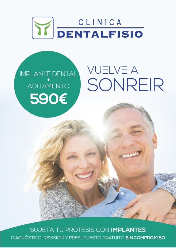 promo dental flyer template