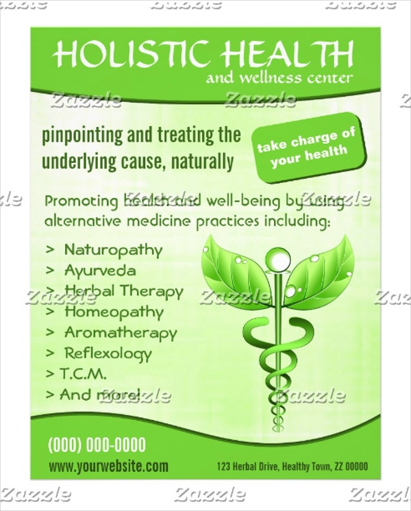 health vertical flyer