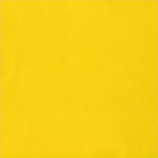 Yellow Color Paper Texture