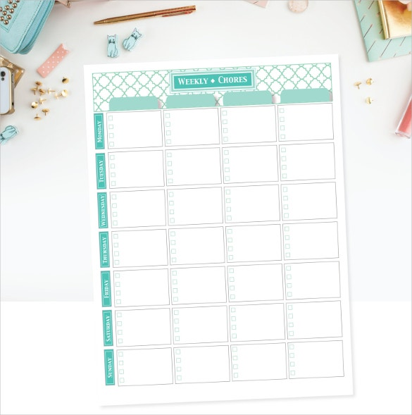editable task checklist template