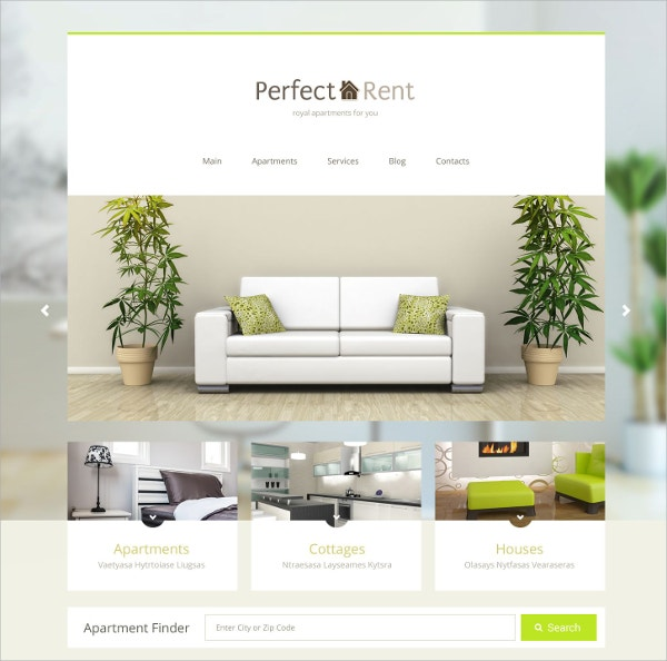 Perfect Real Estate WordPress Theme $75