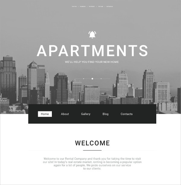 Creative Real Estate Agency WordPress Theme $75
