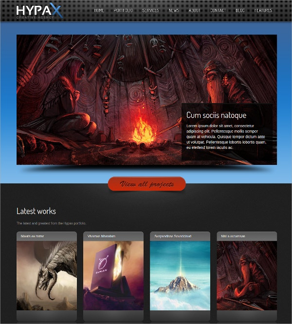 Minimalist One Page WordPress Theme $44