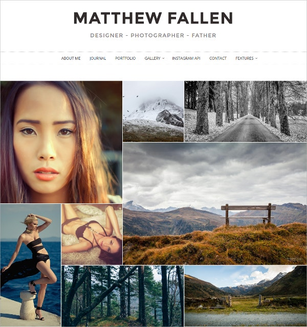 Photography Responsive WordPress Theme $39