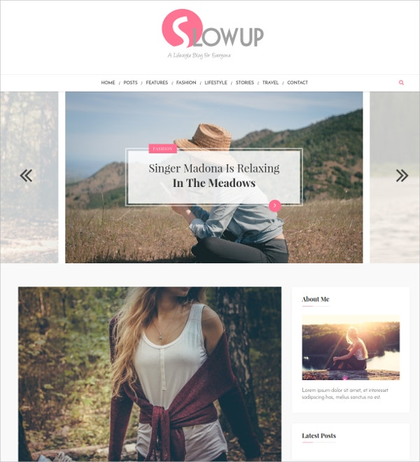 Feminist Responsive WordPress Theme $34