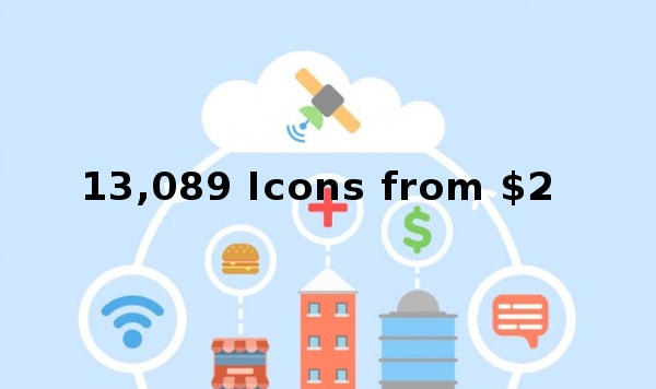 13,089 Icons from $2