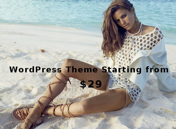 July Theme Deals – WordPress Theme Starting from $29