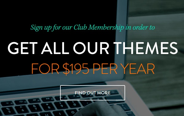Get All Themes for $195 Per Year