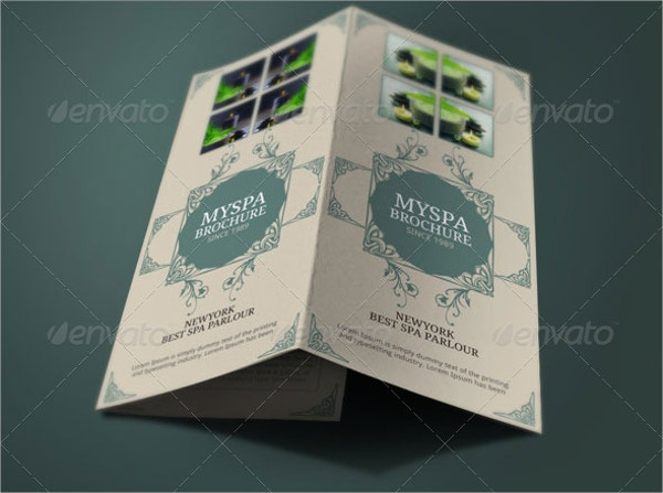 Massage Brochure Templates Free PSD AI EPS Format Download - Spa brochure templates