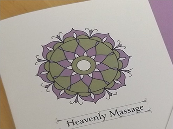 Heavenly Massage Brochure