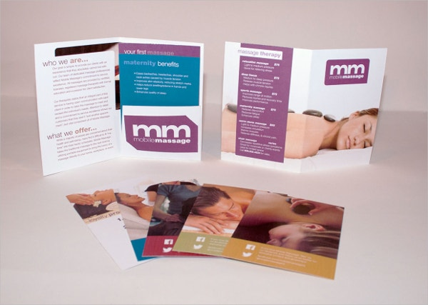 Mobile Massage Brochure