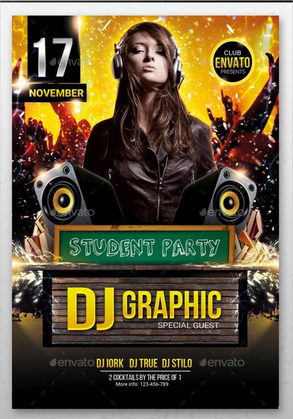17 Student Flyer Templates Free Psd Ai Eps Format Download