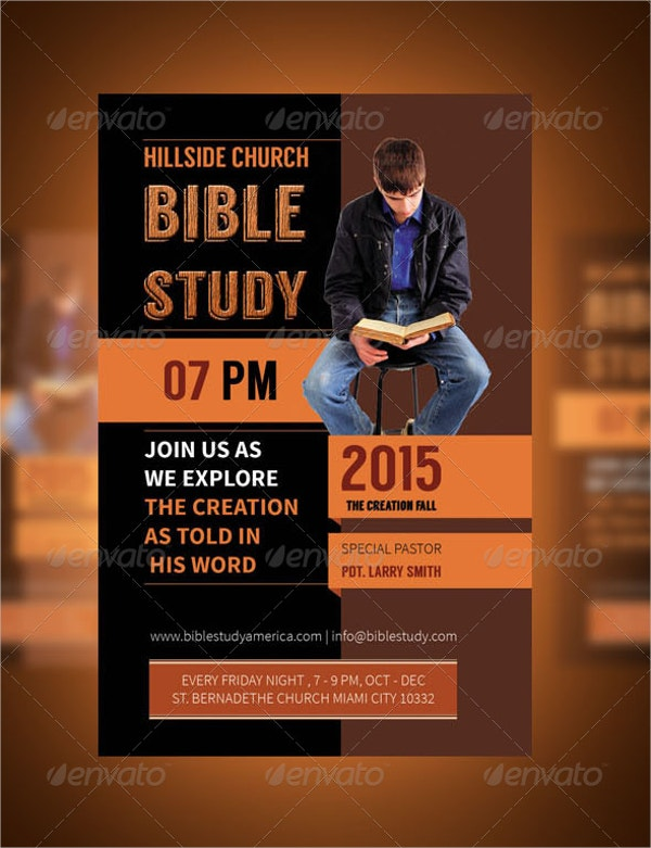 students bible study flyers