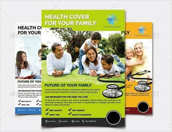 Family Insurance Flyer Template