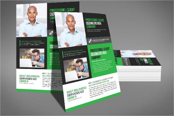 insurance corporate flyer template