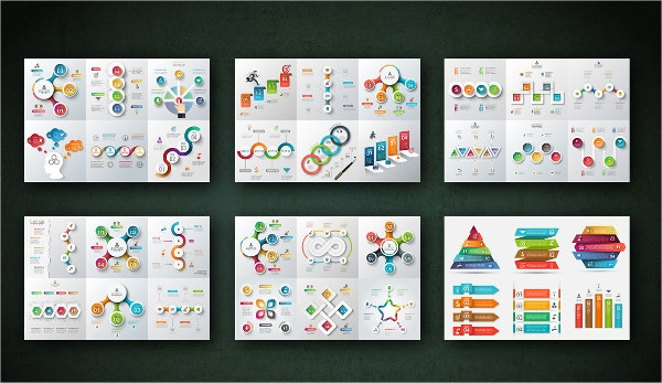 best infographic brochures bundle