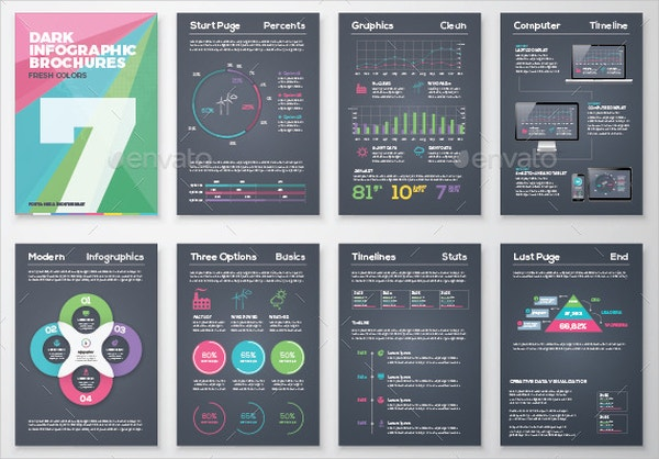 Infographic Brochure Templates Free PSD AI EPS Format - Infographic brochure template