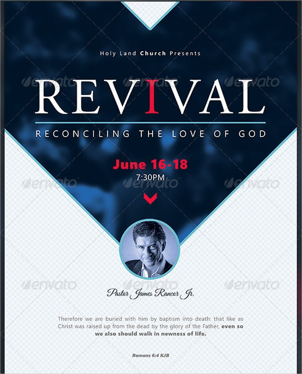 reconciliation revival church flyer