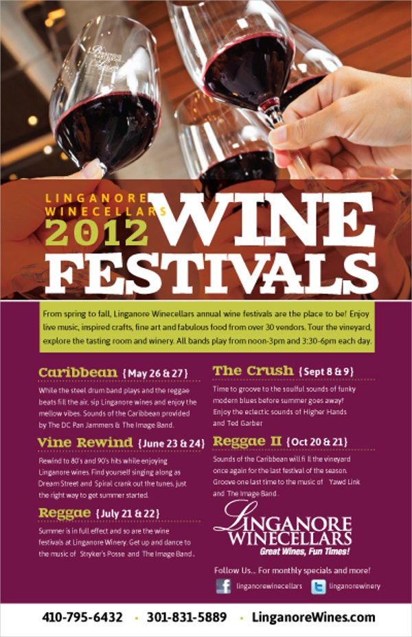 21 Wine Flyer Free Psd Ai Eps Format Download Free Premium