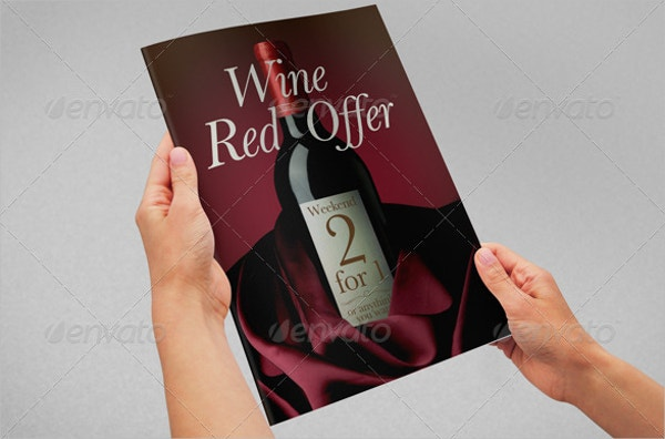 Special Offer Wine Flyer