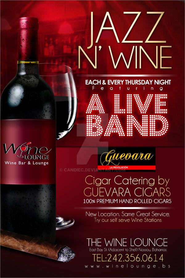 Wine Event Promo Flyer