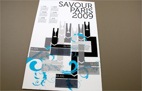 contemporary wine tasting flyer template