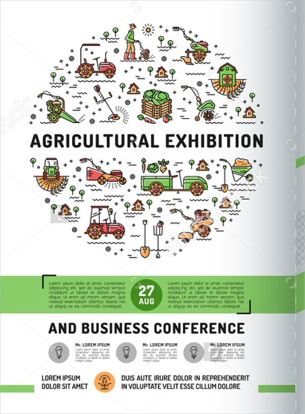 Agricultural Exhibition Flyers
