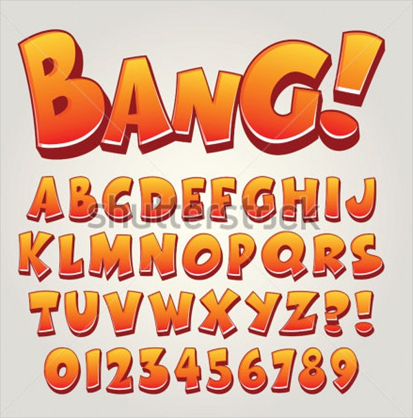 Pop Art Comic Font