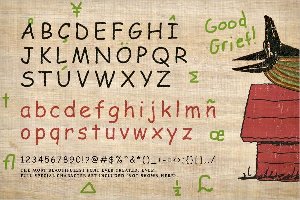 Comic Parchment Font