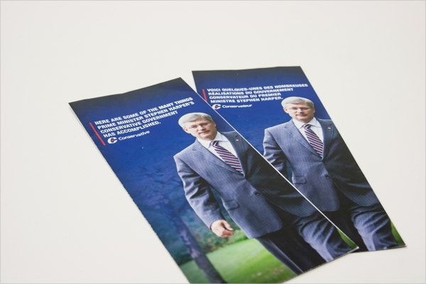 Canada Party Political Brochure Template
