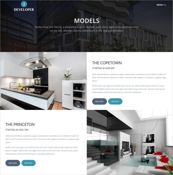 General Contractor Website Template