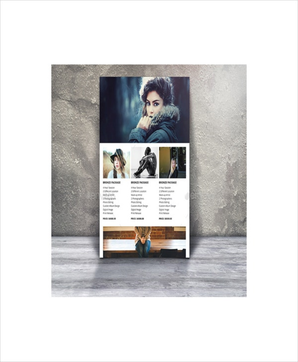 creative photography marketing template