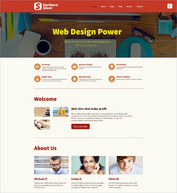 Responsive Web Design Joomla Template $75
