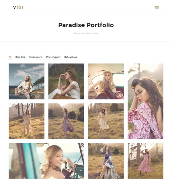 Creative Portfolio WordPress Blog Theme $49