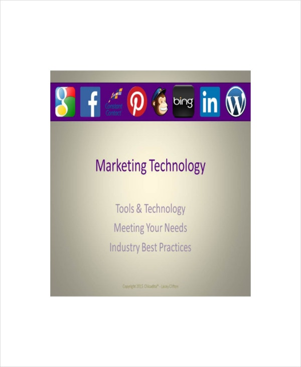 marketing technology presentation template 2